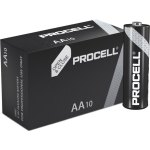10 סוללות אלקליין - AA 1.5V - DURACELL PROCELL INDUSTRIAL