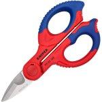 מספריים מקצועיות לחשמלאים - KNIPEX 95 05 155 SB - 155MM