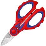 מספריים מקצועיות לחשמלאים - KNIPEX 95 05 10 SB - 190MM