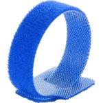 חבילת סרטי קשירה כחולים לכבלים (סקוטש) - 125MM X 12MM