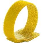 חבילת סרטי קשירה צהובים לכבלים (סקוטש) - 125MM X 12MM
