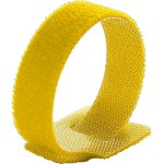 חבילת סרטי קשירה צהובים לכבלים (סקוטש) - 210MM X 16MM