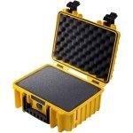 מזוודת אחסון מוגנת מים מפלסטיק קשיח - 364X295X169MM