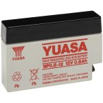 מצבר עופרת נטען - YUASA NP0.8-12 - 12V 0.8AH