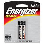 זוג סוללות אלקליין - AAAA 1.5V - ENERGIZER MAX ALKALINE