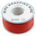 כבל 30AWG - WIREWRAP - גליל 305M - בידוד אדום