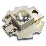 לד לבן חם עם משטח קירור - SMD HIGH POWER 3W