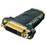 מתאם (DVI (F) - HDMI (M