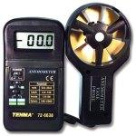מודד ספיקת אוויר ידני דיגיטלי - TENMA 72-6638 ANENOMETER