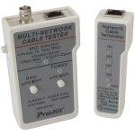 בודק כבלי תקשורת PROSKIT 3PK-NT007 - RJ45 / BNC
