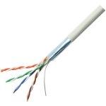 כבל רשת קשיח מסוכך - CAT5E FTP - לפי מטר