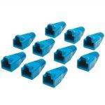 כיסויים להגנה עבור מחברים RJ45 - כחול