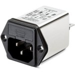 מסנן EMC / RFI עם כניסת מתח IEC - סדרה 6A - FN9260