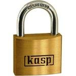 מנעול תלייה מקצועי 50MM - מפתח מאסטר - KASP SECURITY