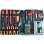 קיט כלי עבודה מקצועי לטכנאי חשמל - PROSKIT PK-2807