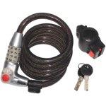 מנעול חוליות / קומבינציה מקצועי לאופנוע - KASP SECURITY - 1800MM