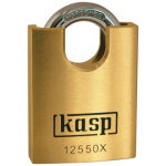 מנעול תלייה מקצועי - שקל סגור - KASP SCEURITY - 50MM