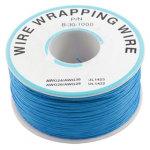 כבל 30AWG - WIREWRAP - גליל 305M - בידוד כחול