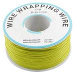 כבל 30AWG - WIREWRAP - גליל 305M - בידוד צהוב