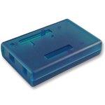 קופסת זיווד כחולה לכרטיס פיתוח - ARDUINO UNO