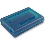 קופסת זיווד כחולה לכרטיס פיתוח - ARDUINO DUE