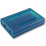 קופסת זיווד כחולה לכרטיס פיתוח - ARDUINO MEGA 2560