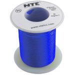 כבל חשמל גמיש לאלקטרוניקה - 22AWG - גליל 30.48 מטר - כחול