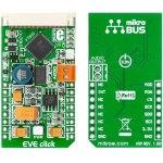 כרטיס הרחבה - FT800 EVE CLICK CONTROLLER