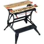 שולחן עבודה מתקפל נייד - BLACK & DECKER WM825
