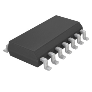 מגבר שרת - 4 ערוצים - SMD - 0.5V/µs - 1.5V-16V - 1MHZ TEXAS INSTRUMENTS