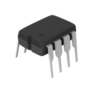 מגבר שרת - 2 ערוצים - DIP - 0.43V/µs - 3V-16V - 525KHZ TEXAS INSTRUMENTS