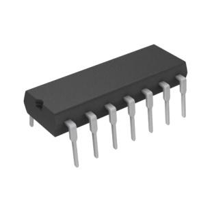 שער לוגי - 2 כניסות - DIP - 4.5V-5.5V - 8MA - NAND TEXAS INSTRUMENTS