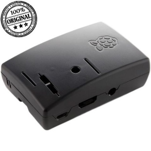 קופסת זיווד שחורה עבור RASPBERRY PI 2 MODEL B RASPBERRY PI