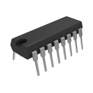 בורר / מרבב - 4 ערוצים - DIP - 4.5V-5.5V - 2:1 - SLC / MUX TEXAS INSTRUMENTS