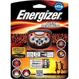פנס ראש מקצועי - ENERGIZER 6-LED HEADLIGHT ENERGIZER
