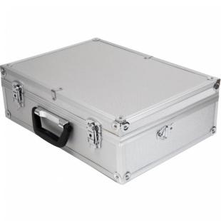 מזוודת כלים מאלומיניום - DURATOOL - 457X330X152MM DURATOOL