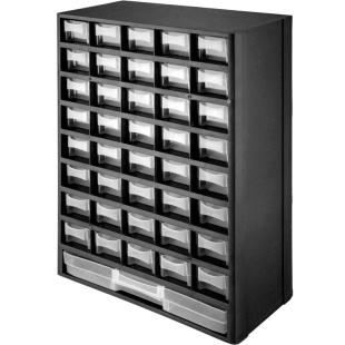 ארונית 41 מגירות לאחסון רכיבים - 490X310X138MM DURATOOL