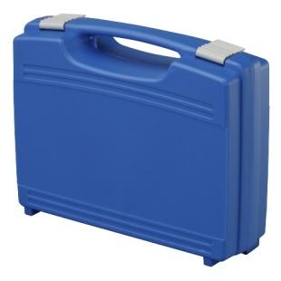 מזוודת אחסון 260X210X76MM - עם ריפוד פנימי - כחולה PLASTICA PANARO
