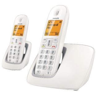 טלפון אלחוטי + שלוחה נוספת - PHILIPS CD2902 PHILIPS