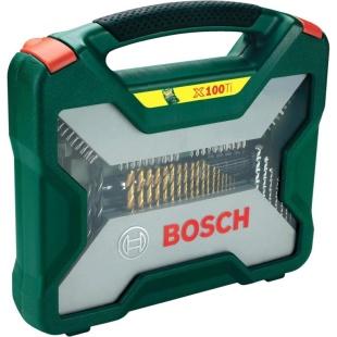 סט מקדחים וביטים עם ידית ראצ'ט - BOSCH X100 BOSCH