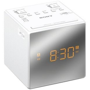 רדיו / שעון מעורר אנלוגי - SONY ICF-C1T WHT SONY