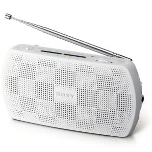 רדיו נייד אנלוגי - SONY SRF-18 WHT SONY