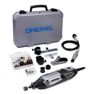 משחזת ציר חשמלית 220V - קיט 69 אביזרים - DREMEL 4000-4/65 DREMEL