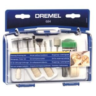 ערכת 20 אביזרי ניקוי וליטוש למשחזת ציר - DREMEL 684 DREMEL