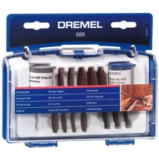 ערכת 69 אביזרי חיתוך למשחזת ציר - DREMEL 688 DREMEL