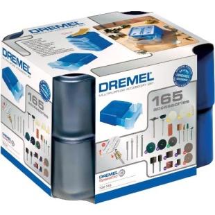 ערכת 165 אביזרים מודולריים למשחזת ציר - DREMEL 722 DREMEL