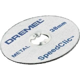 חבילת דיסקיות לחיתוך מתכת - DREMEL EZ SPEEDCLIC SC456B DREMEL