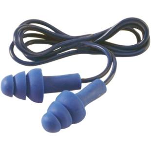 זוג אטמי אוזניים מקצועיים עם חוט מקשר - AEARO TRACERS PELTOR