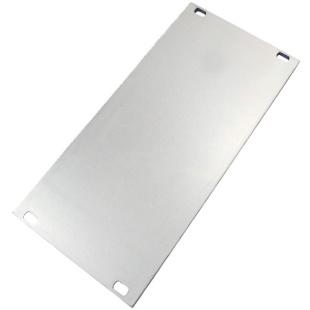 פנל אלומיניום למארז 19 אינץ' - 128.4MM X 60.96MM - 3U SCHROFF