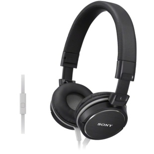אוזניות HI-FI עם דיבורית - SONY MDR-ZX610AP BLACK SONY